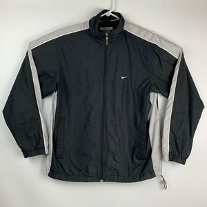 Nike Mini Swoosh Color Block Windbreaker Jacket